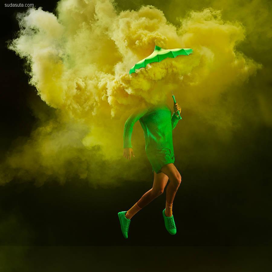 Tim Tadder 颜色,烟雾与时尚