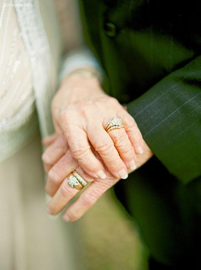 Wanda和Joe 一起相爱60年 婚礼摄影欣赏