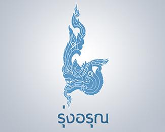 创意LOGO设计欣赏 龙
