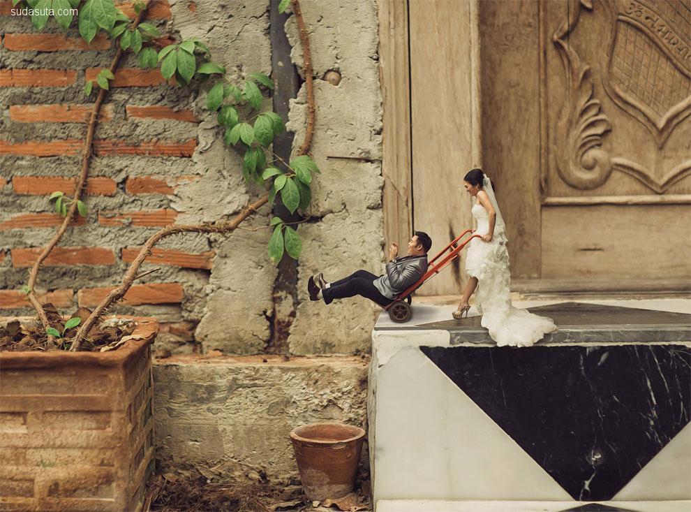不一样的婚纱摄影 微距摄影欣赏