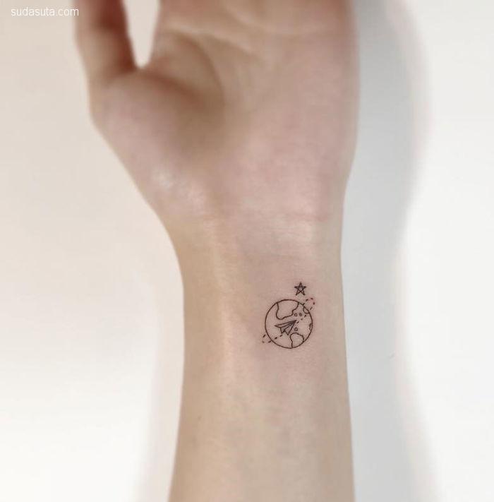 플레이그라운드 타투 细小可爱的纹身设计