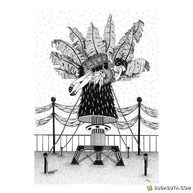 Alice Guiraud 涂鸦涂鸦 可爱有趣的手绘小涂鸦!