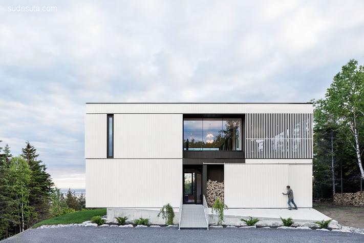 Chalet Blanche 建筑设计欣赏