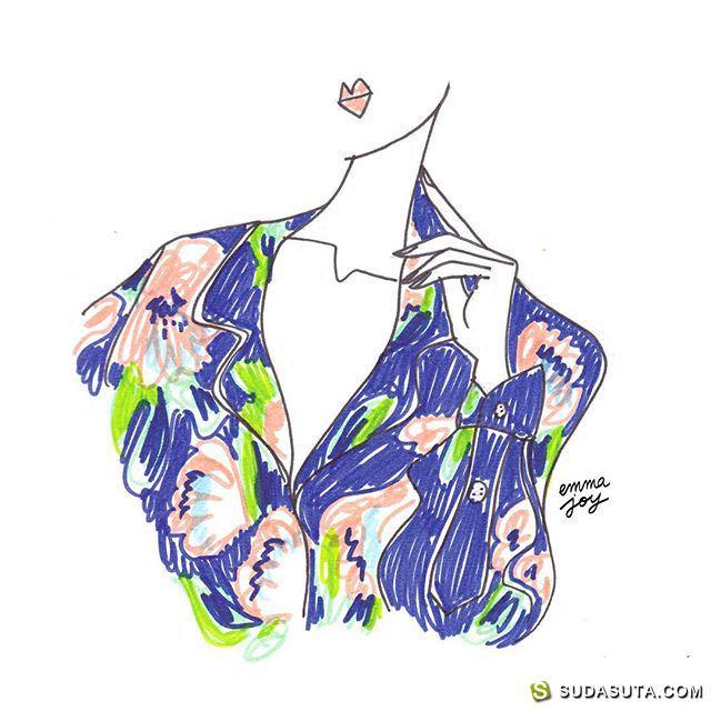 Emma Joy 时尚插画欣赏