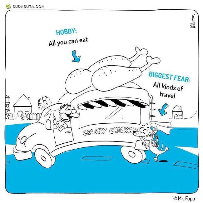 Mr. Fopa 可爱有趣的生活漫画