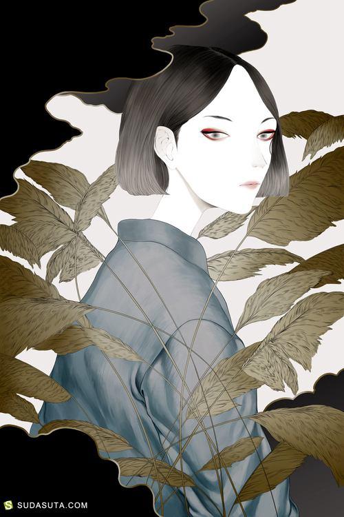 Ha Gyung Lee 个性插画欣赏