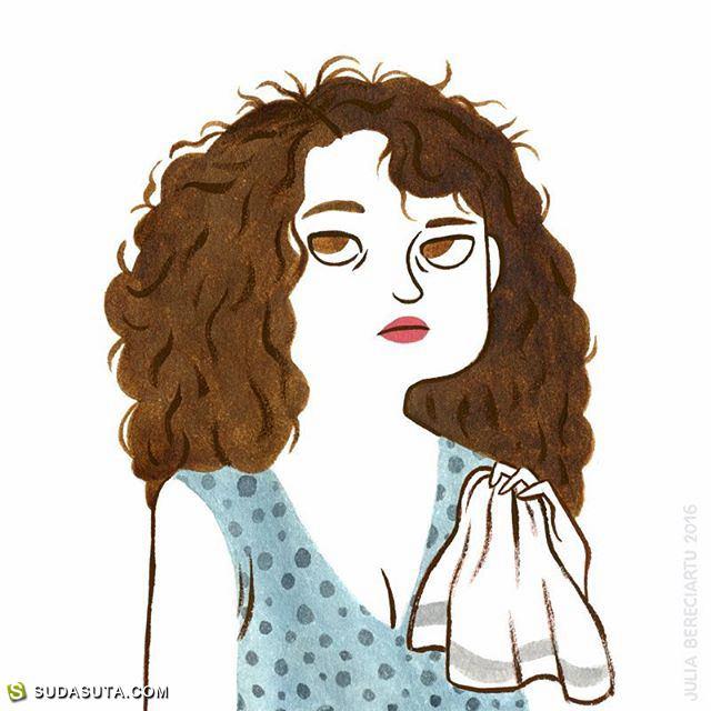 Julia Bereciartu  清新有趣的水彩手绘
