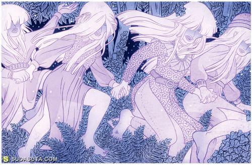 Kirsten Rothbart 潮流插画欣赏