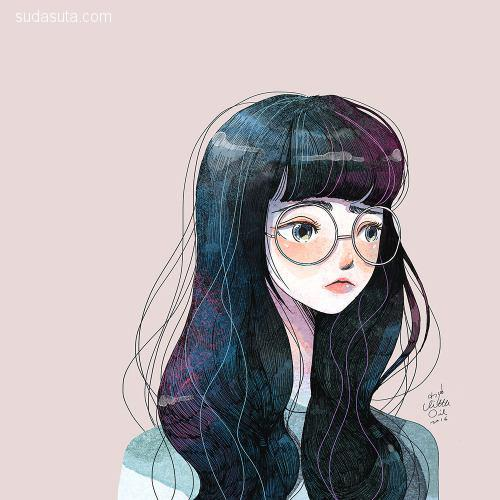 Little Oil 温馨浪漫的小插画