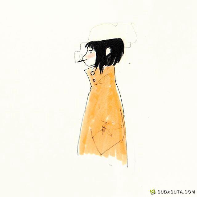 Manddy Wyckens 卡通视觉草图本子