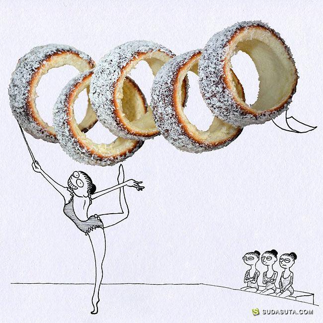 Massimo Fenati 厨房的幽默