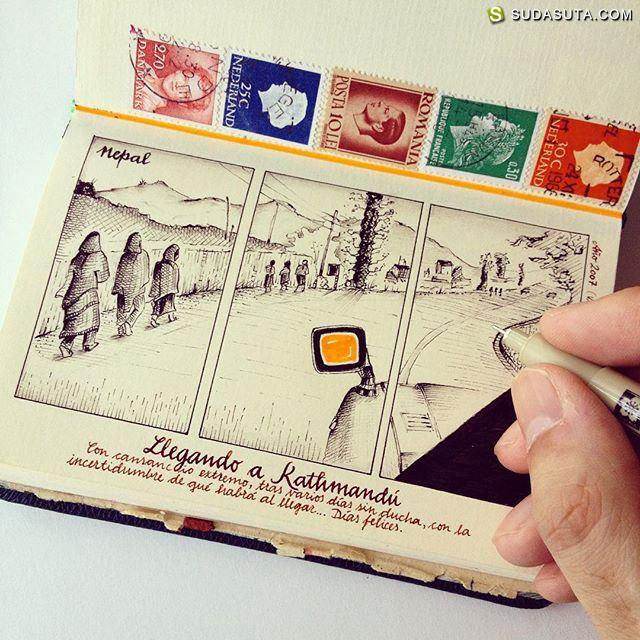 José Naranja 的创意手工手绘书