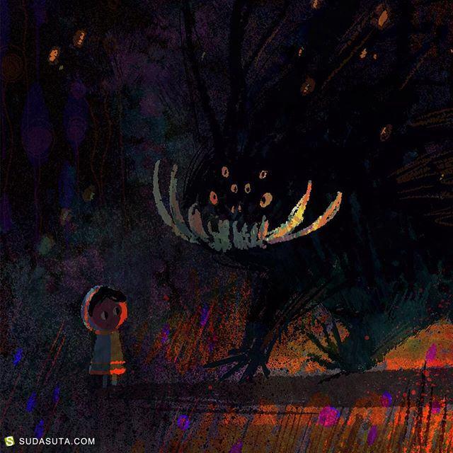 Elena 和 Olivia儿童插画欣赏