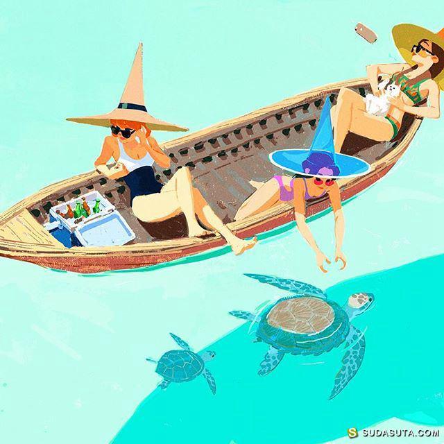 Woonyoung Jung 商业插画欣赏