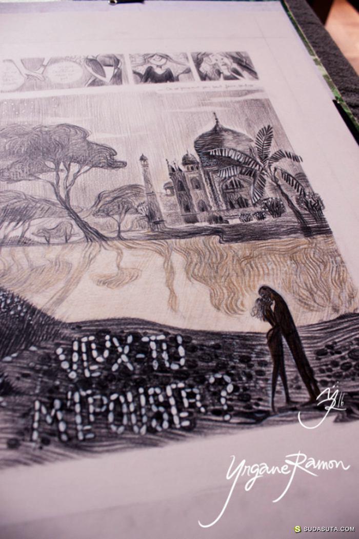 Yrgane Ramon 插画作品欣赏