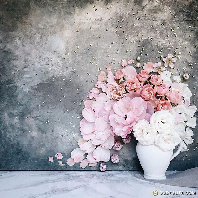 Евгения Принслоо 花朵,美食和诗歌