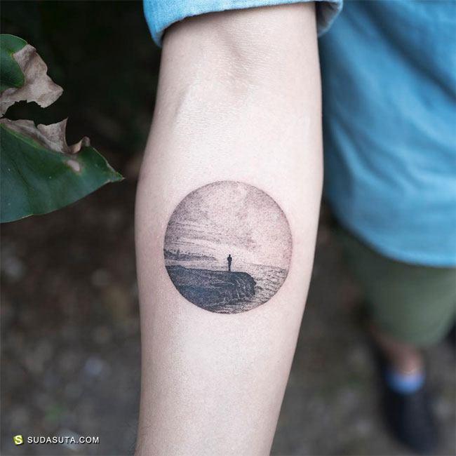 韩国纹身艺术家 타투이스트 홍담