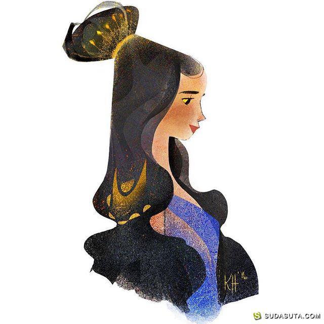 kathuon 插画作品欣赏