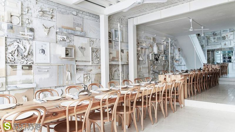 Hueso 餐厅设计欣赏