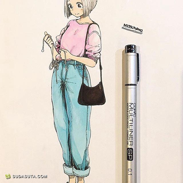 みつまよ 日本手绘漫画