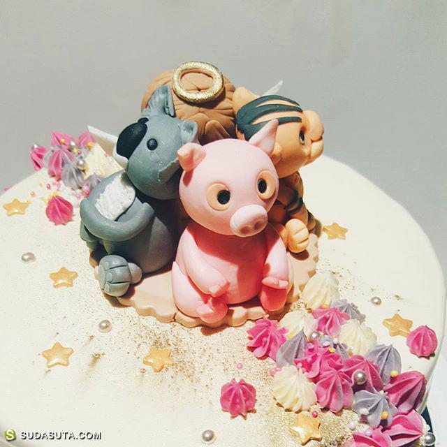 创意蛋糕艺术家 undusted
