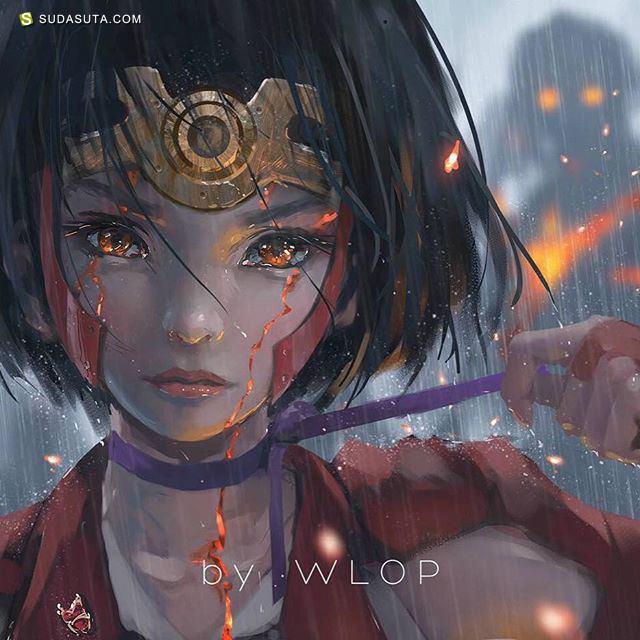 WLOP 概念插画欣赏