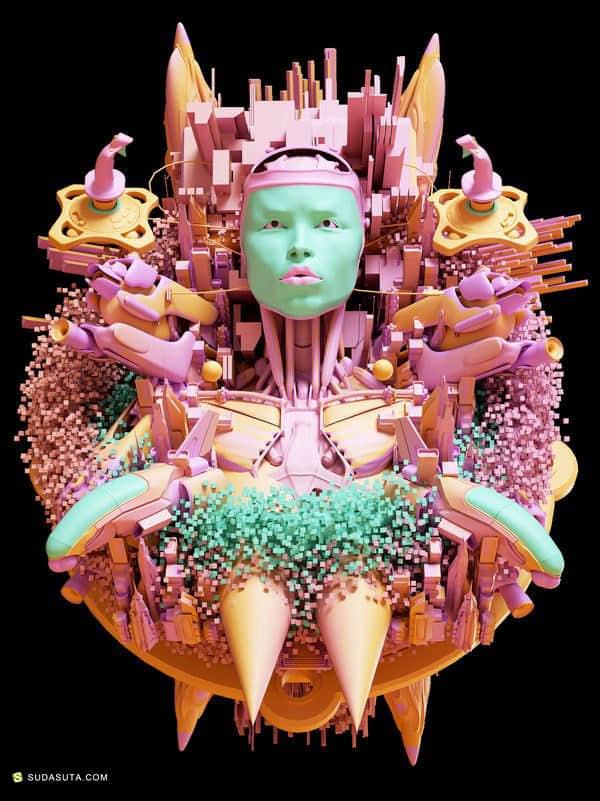 Antoni Tudisco 数字艺术作品欣赏