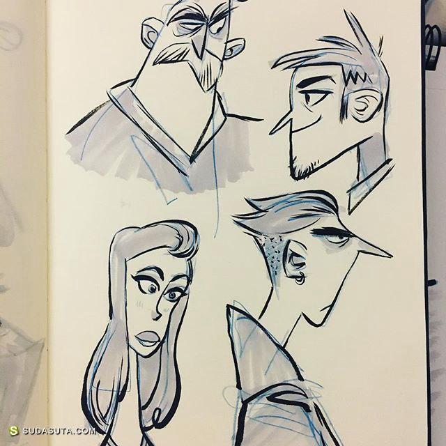 卡通设计师 Bill Robinson