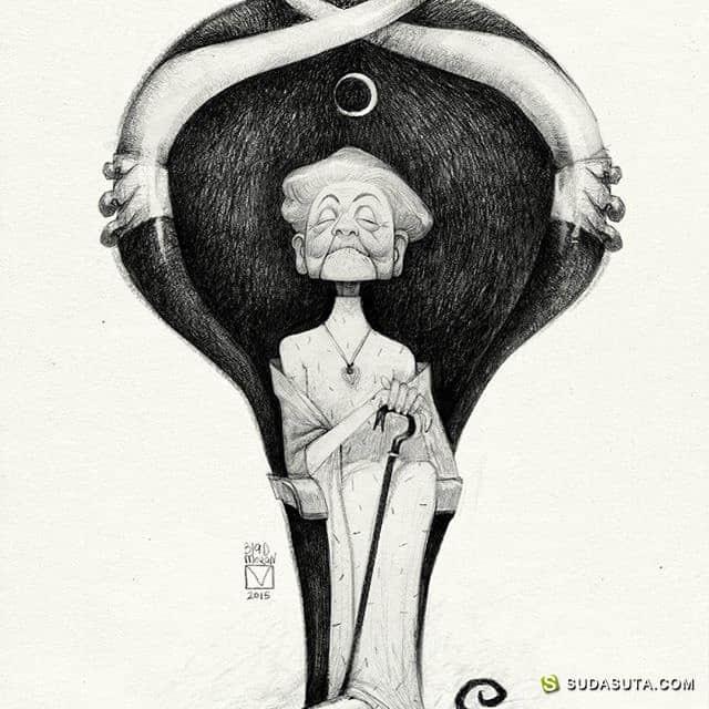 Blad Moran 卡通造型设计欣赏