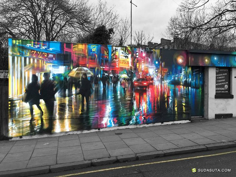 Dan Kitchener 街头涂鸦