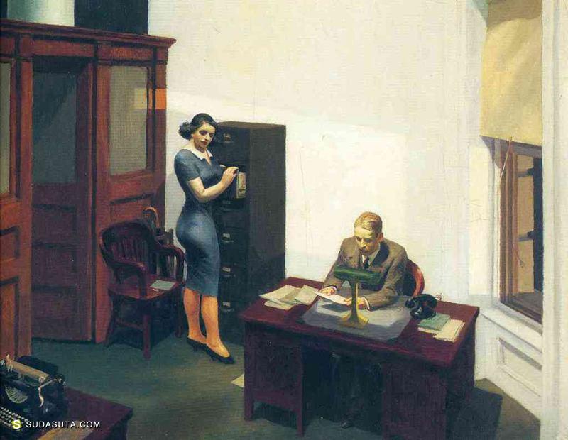 Edward Hopper 绘画艺术欣赏
