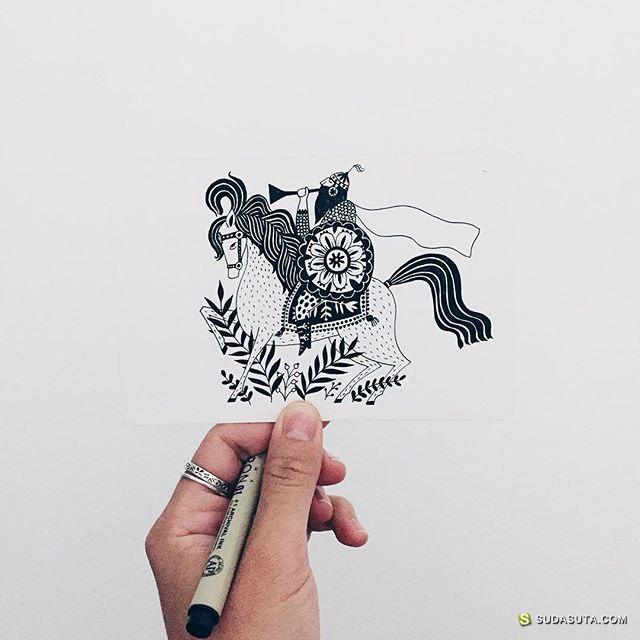 Fran Meneses 装饰插画欣赏