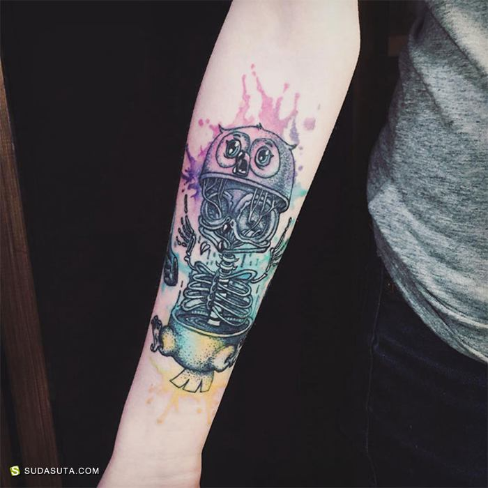 Irina Irchey 和 Eugenia Vorobej 纹身设计欣赏