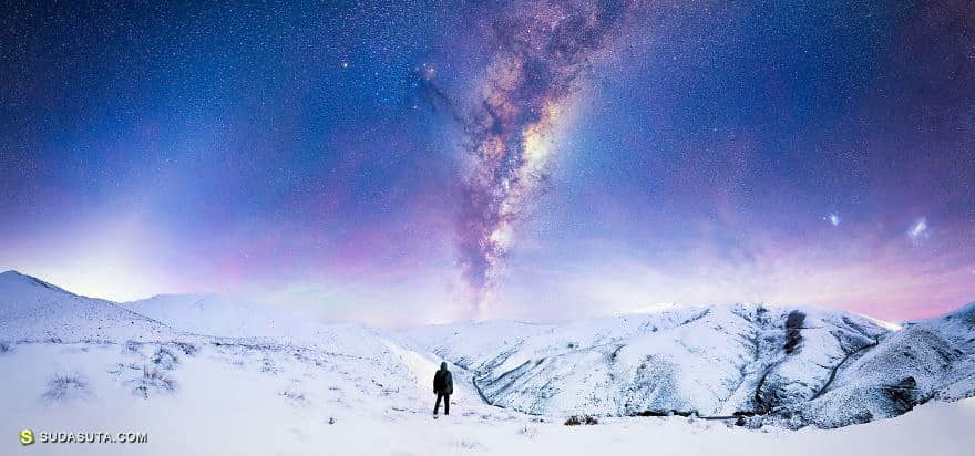 Jake Scott 不可思议的冬日星空