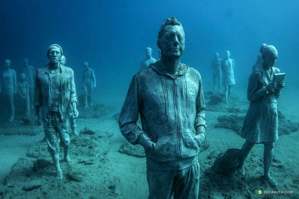 Jason deCaires Taylor 水下雕塑