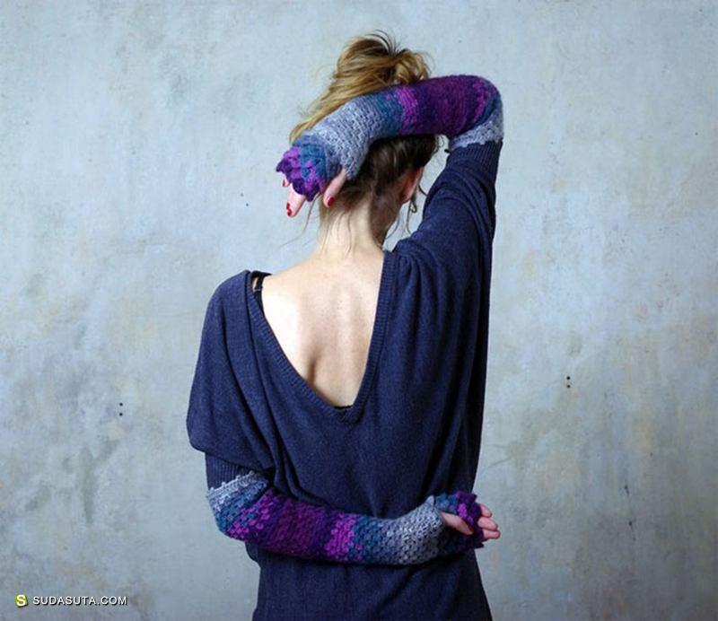 Kristine 不一样的手套设计