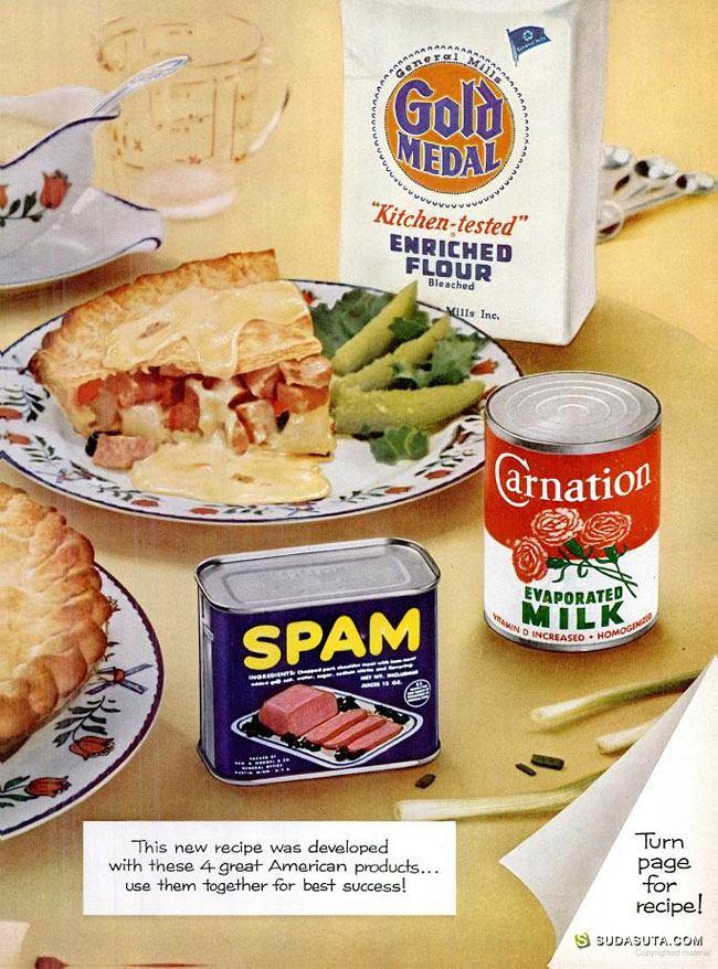古老的美食广告海报设计欣赏