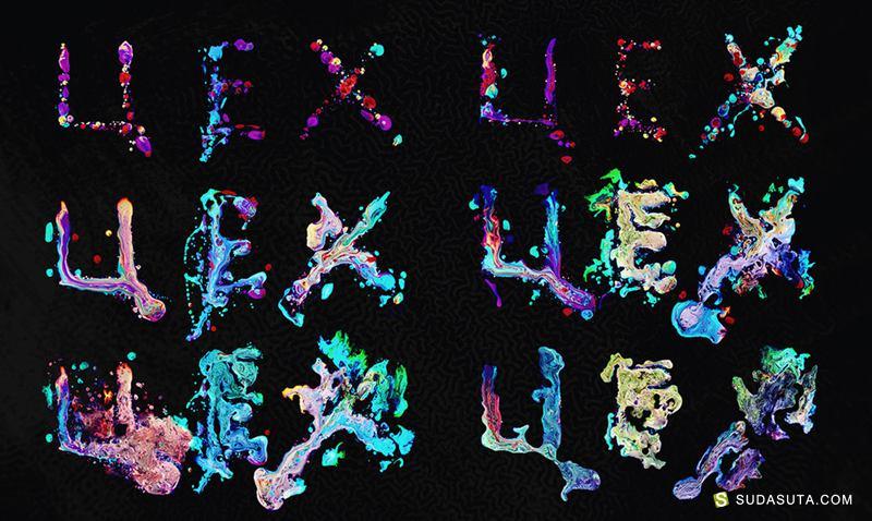 Ruslan Khasanov 字体排版设计欣赏
