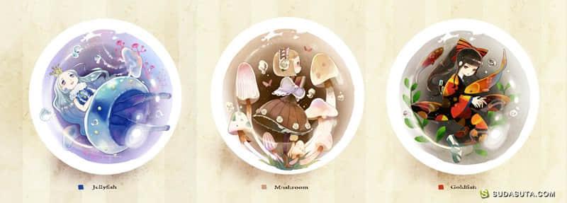 日本漫画家Tobi 的梦幻世界