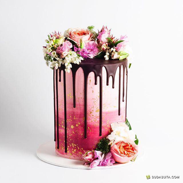 Cake Ink 蛋糕与花 贩卖幸福