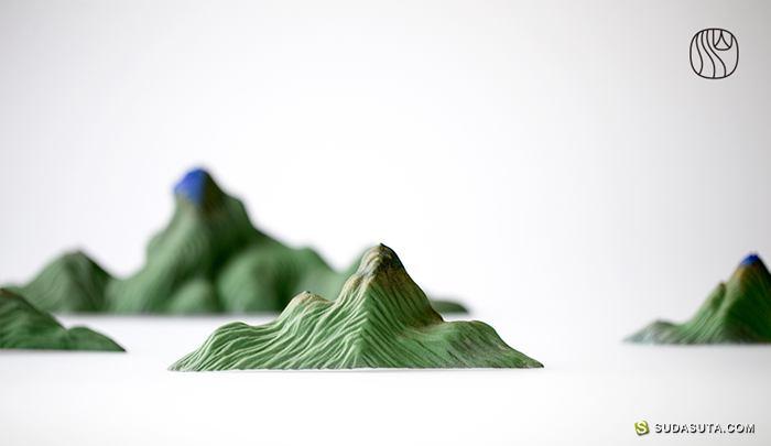 中国风设计品牌 山水间茶器