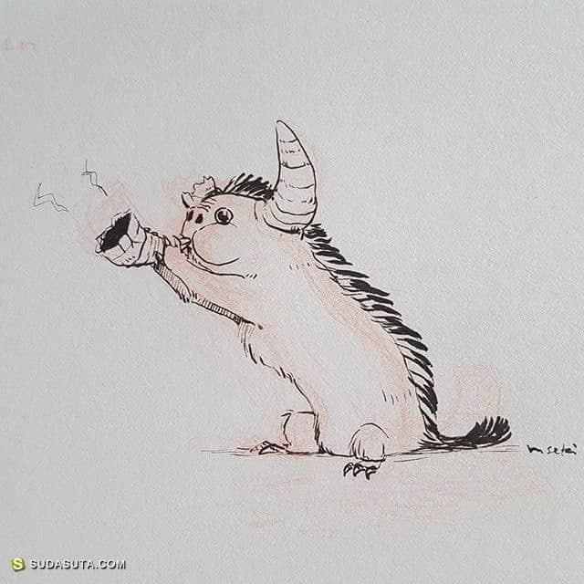 Masae Seki  卡通造型设计欣赏