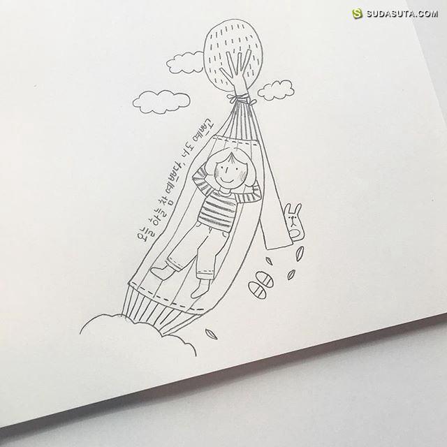 oh.ranran 清新可爱的小插画