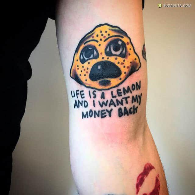 ratfingerz 潮流有趣的卡通纹身