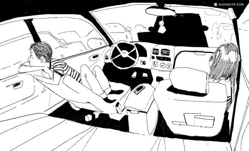 VINCENT LAU 卡通作品欣赏