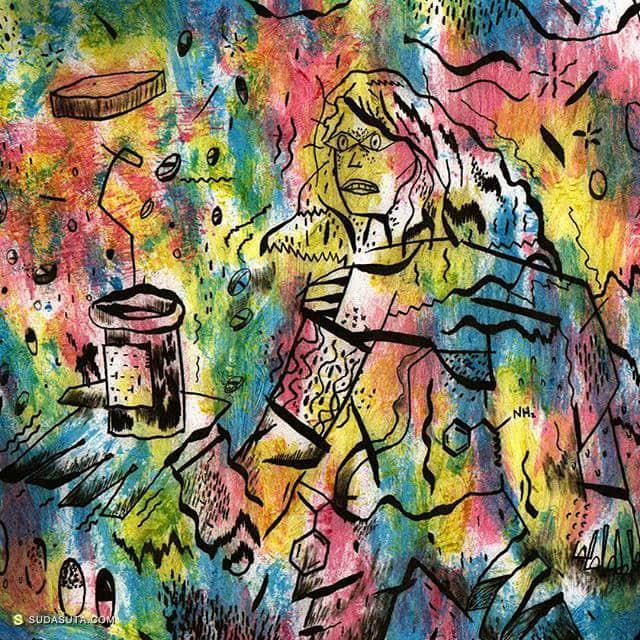 Alex Gorodskoy 绘画艺术欣赏