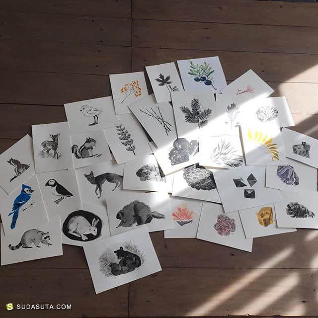 Alexandria Neonakis 手绘小图