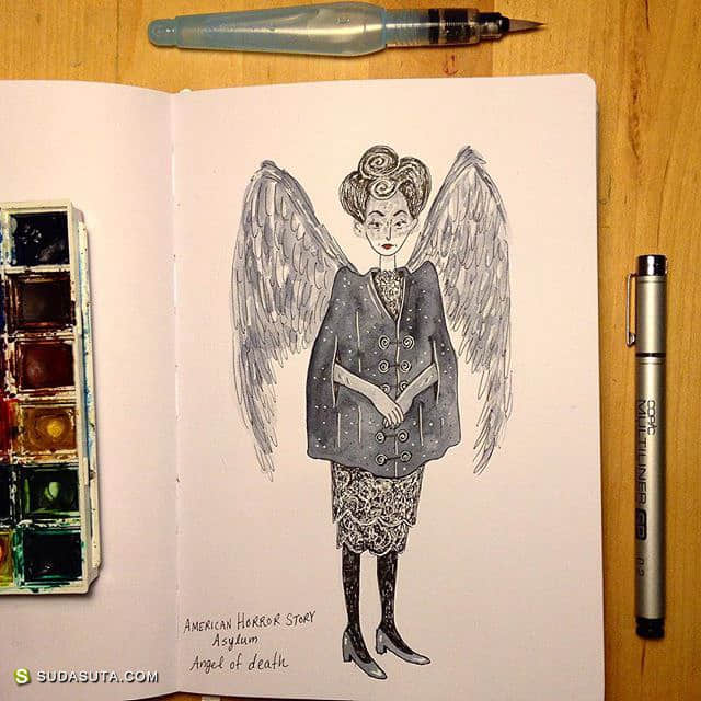 Allison Steinfeld 清新可爱的手绘本子