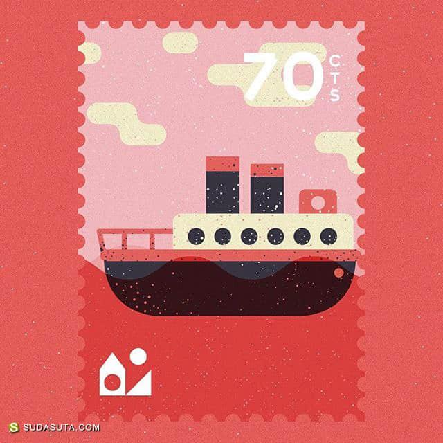 Atelier FP7 邮票设计欣赏