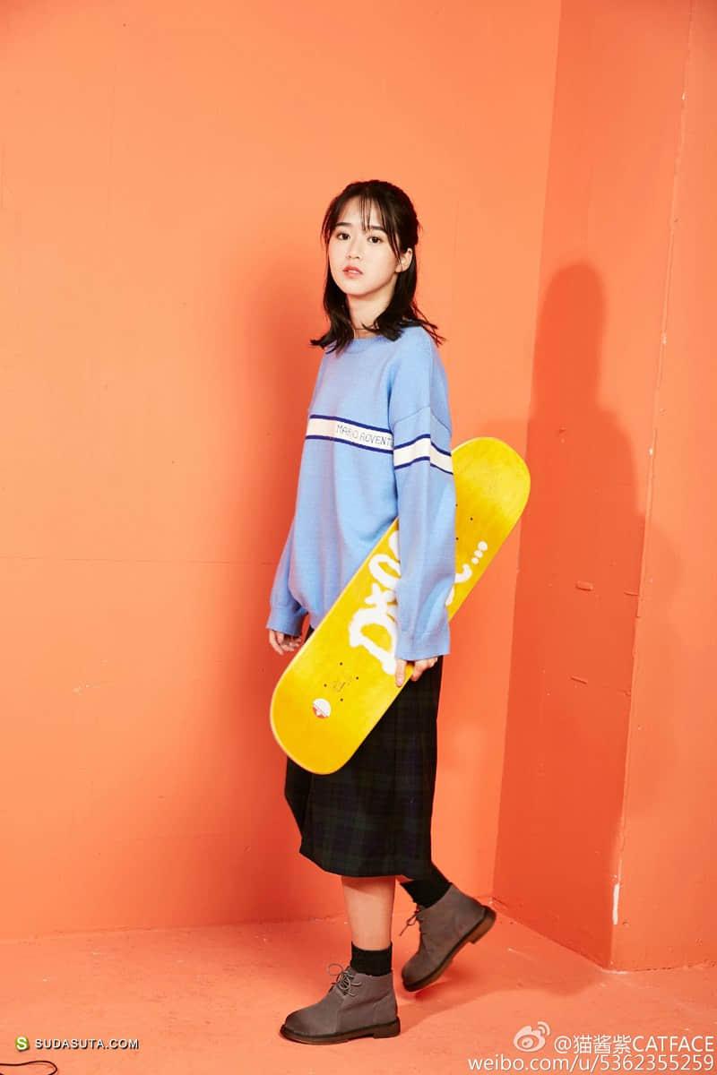 独立设计女装 猫酱紫CATFACE